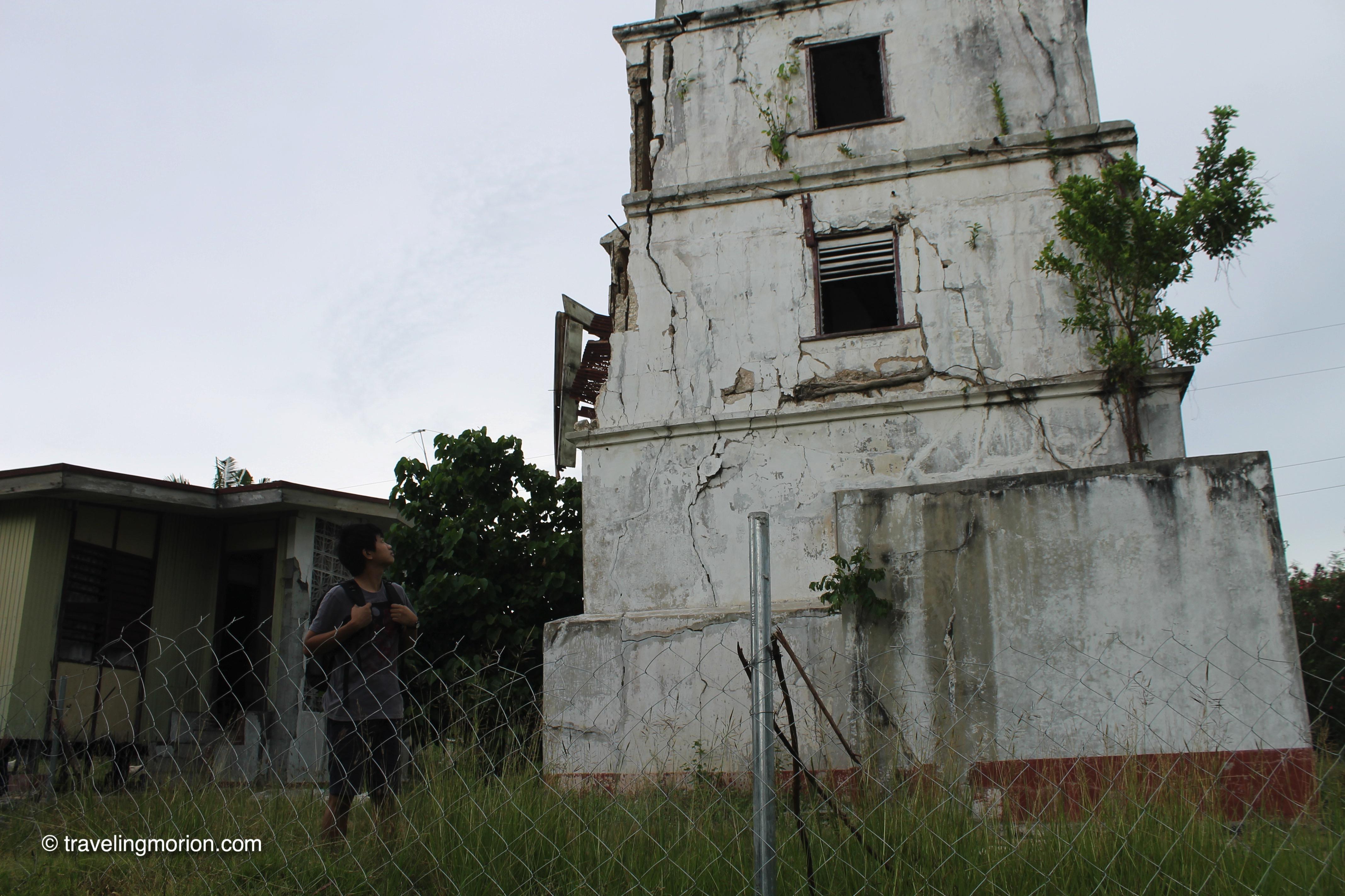 Lighthouse in Balicasag Island, Bohol