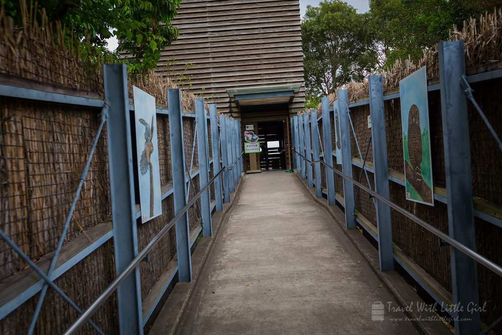 Into the bird's Hide, Hong Kong Wetland Park