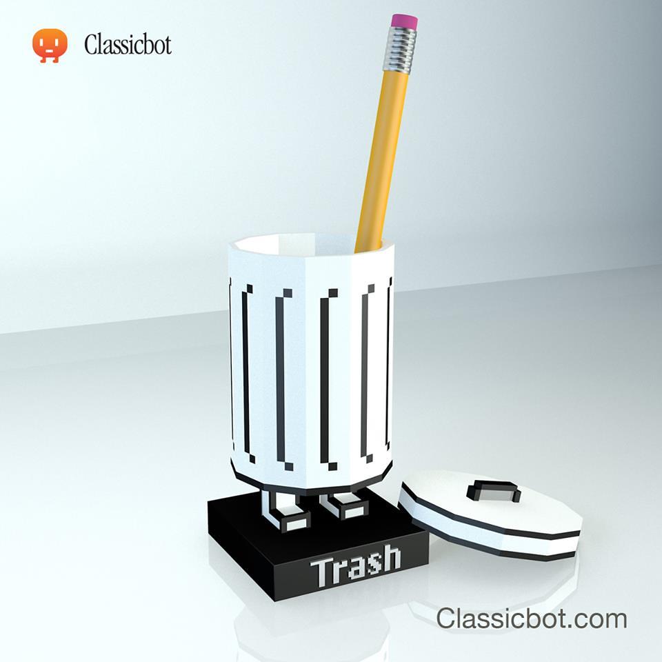 Classicbot 系列第三彈【Trashbot & Friends】垃圾筒與他的小夥伴!!ToySoul 預定在即!!