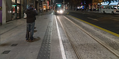 WESTMORELAND STREET TRAM STOP [FULL SERVICE BEGAN LAST SATURDAY]-134407