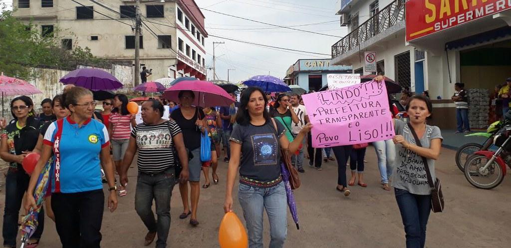 Óbidos é o pior do oeste do Pará em transparência, diz CGU; confira o ranking, protesto em Óbidos