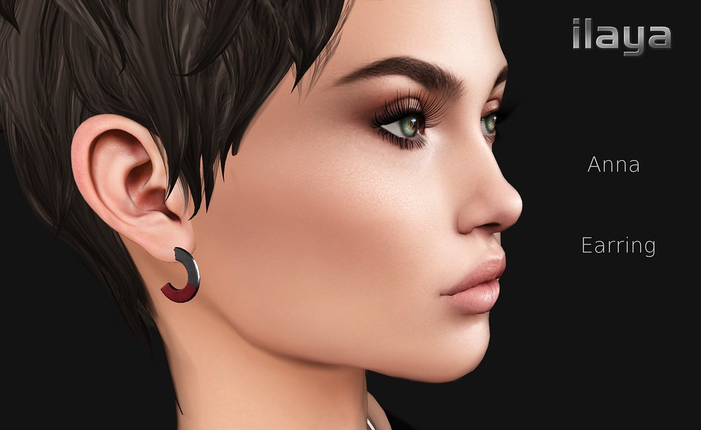 [ILAYA] Anna Earrings Vendor