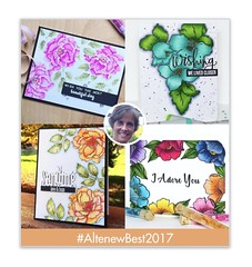 Altenew Year in Review 2017 Blog Hop!