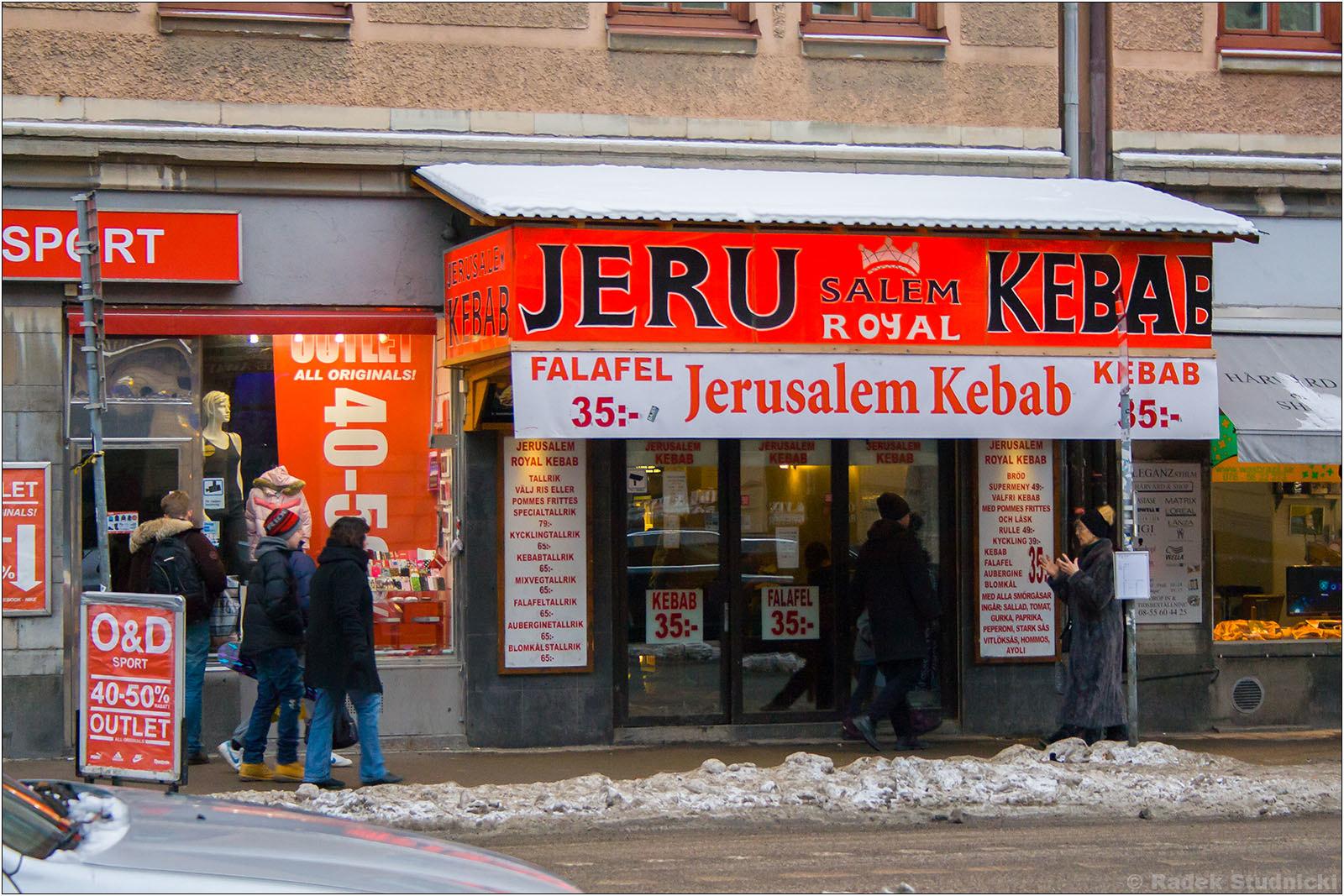 Kebab w Sztokholmie