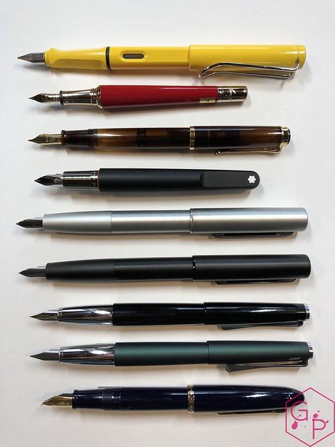 Review Lamy Aion Fountain Pen - Black & Olive Silver @AppelboomLaren 12