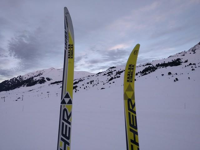 Fin de año 2017 en Baqueira Beret - esquí de fondo y autocaravana