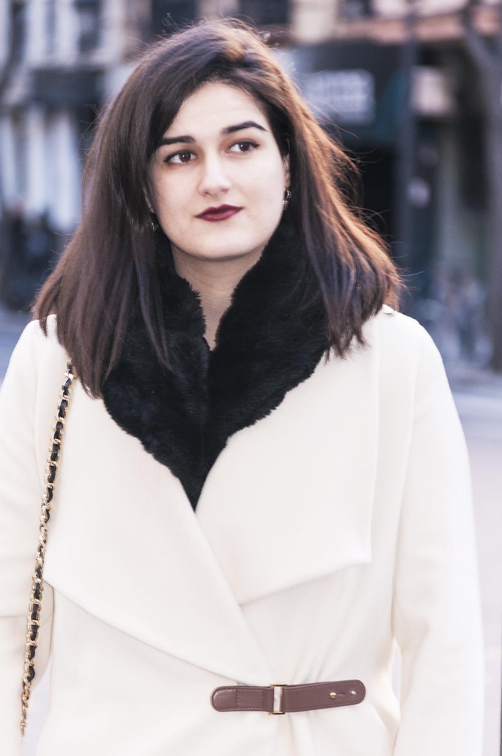 something fashion blogger valencia spain influencer firenze Dior LBD vintage dress _0341