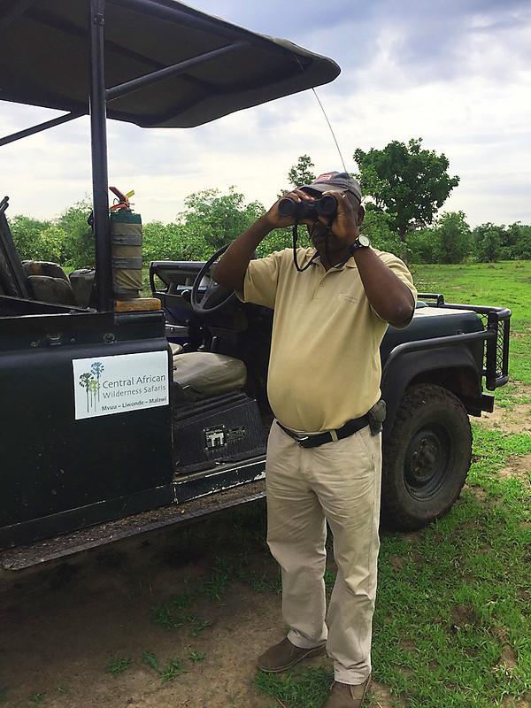 My private guide at the Mvuu Lodge, Liwonde National Park, Mvuu Lodge, Liwonde Wildlife Reserve, Malawi