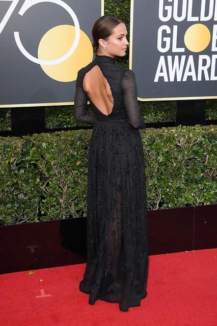 Golden Globe 2018 черные платья