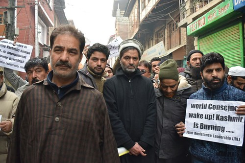 Police Foil UN March, Arrest Yasin Malik in Srinagar