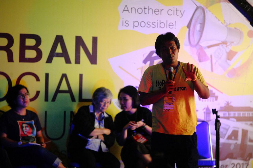 Gugun, Jaringan Rakyat Miskin Kota
