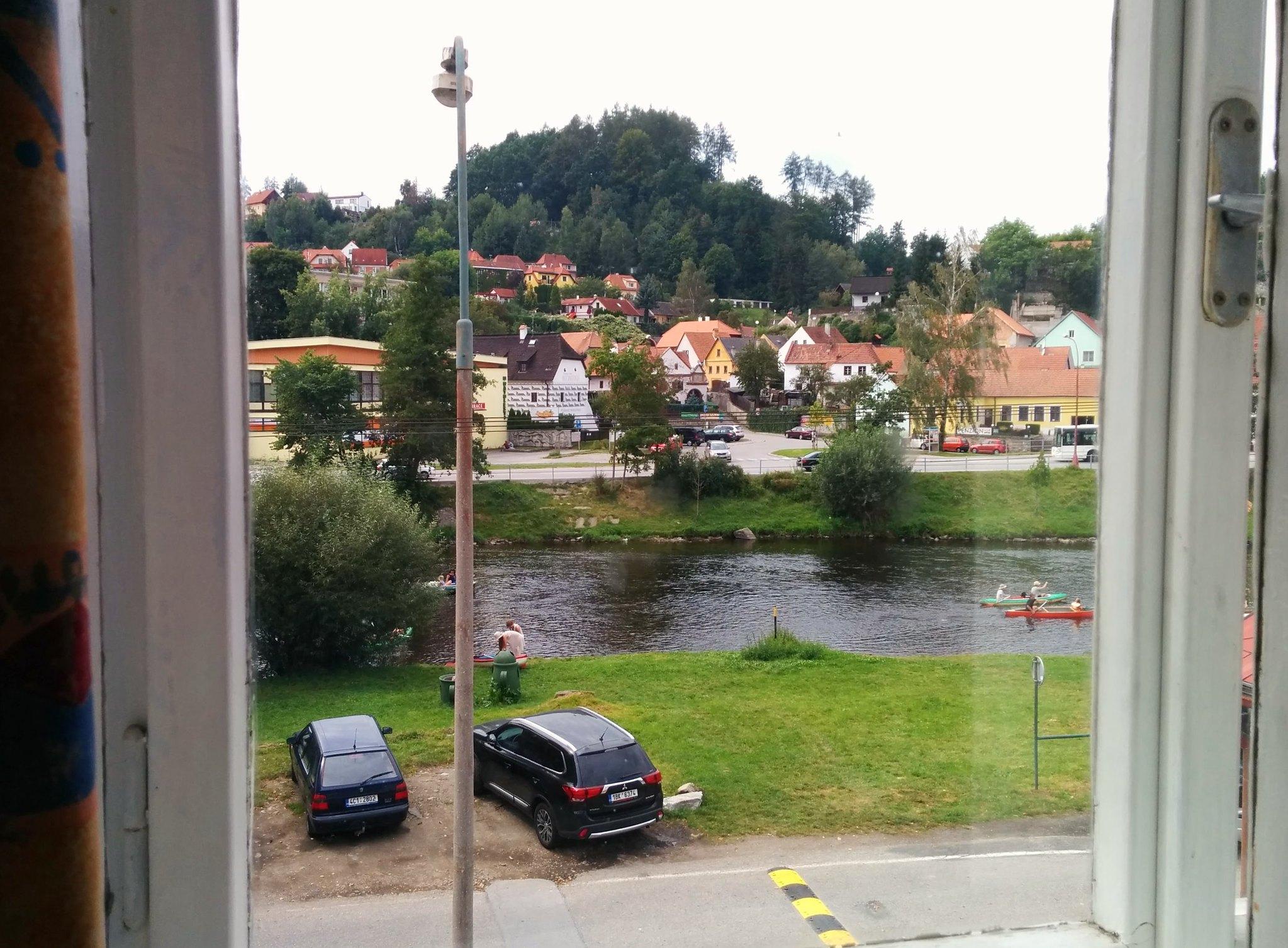 2016.09.03.: Séta Český Krumlovban