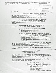 Anti-discrimination flyer from Terrell and Palmer: 1953