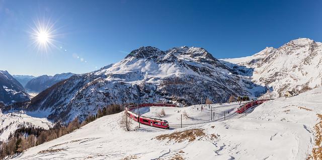 Alp Grüm Panorama