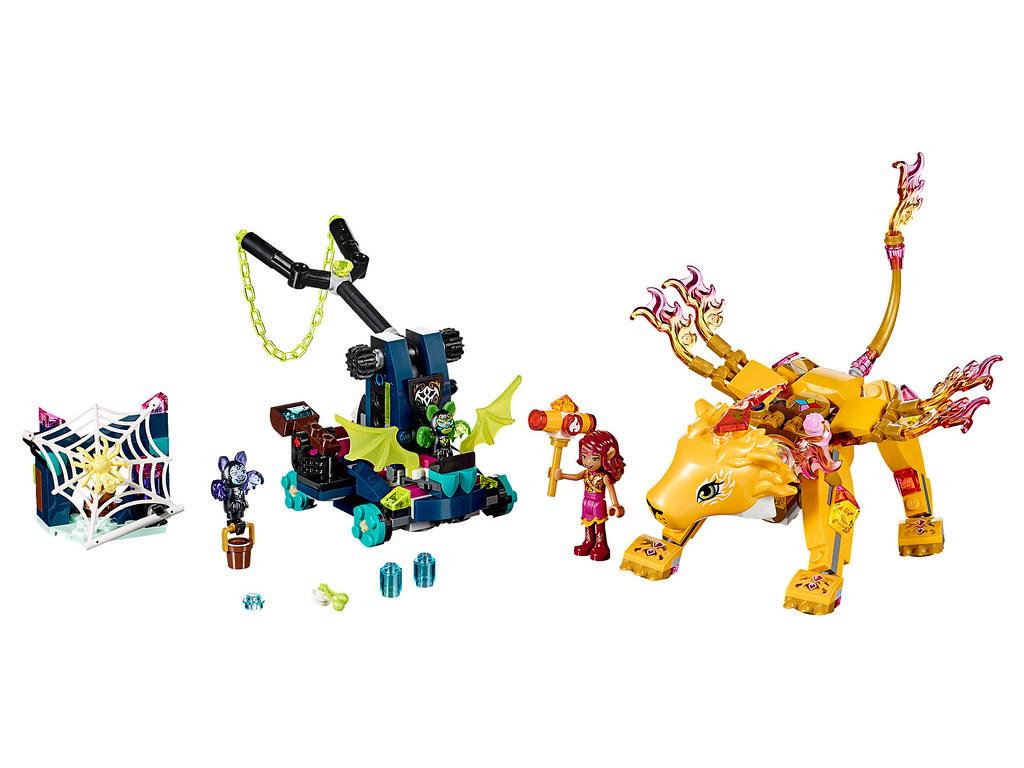 LEGO Elves 41192 - Azari & the Fire Lion Capture