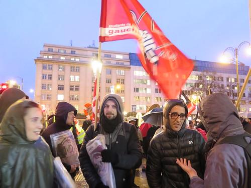 Betoging rond migratietop EU // Foto's door Mario