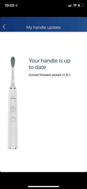 Philips Sonicare iOS App - Firmware