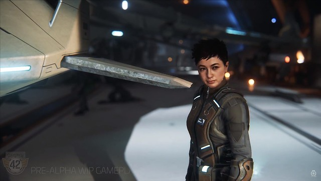 Star Citizen Squadron 42 - Lt Webster