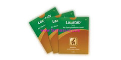 LAXATAB 6'S TAB/STRIP