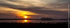 Sunset over Yuba County, CA