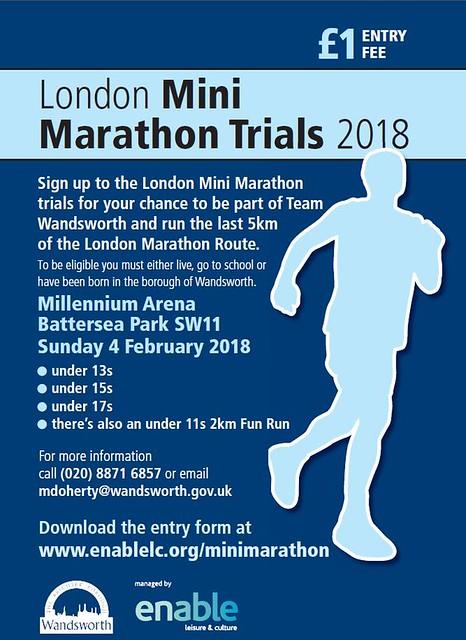 Mini Marathon Poster 2018