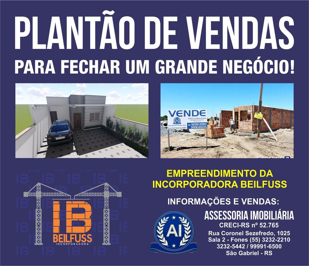 Anúncio vendas Incorporadora Beilfuss 1