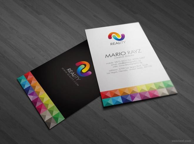30+ ý tưởng thiết kế Business Card đầy màu sắc