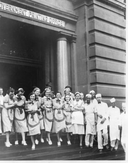 Cafeteria workers strike Government Printing Office: 1938 | by Washington Area Spark