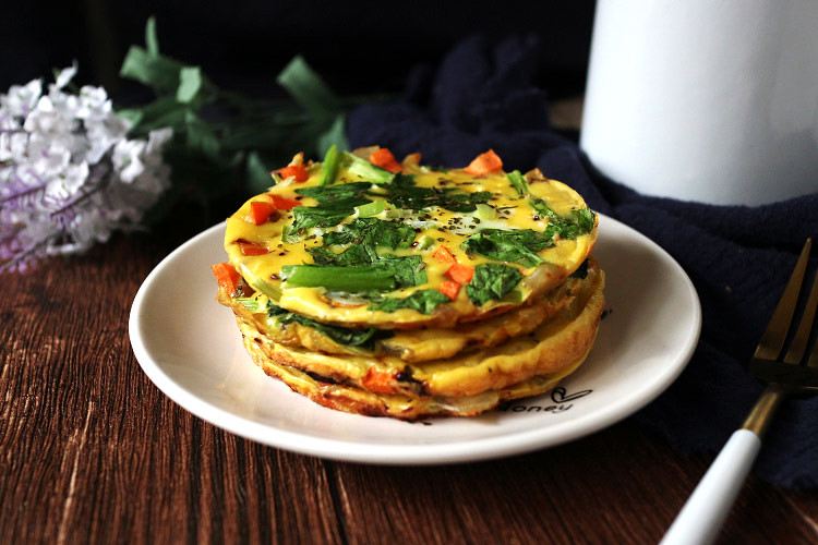 簡易免烤蔬食烘蛋 easy-no-bake-veggie-frittata_neoflam-steam-plus-pan (18)