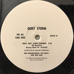 QUIET STROM:ONLY YOU(LABEL SIDE-A)