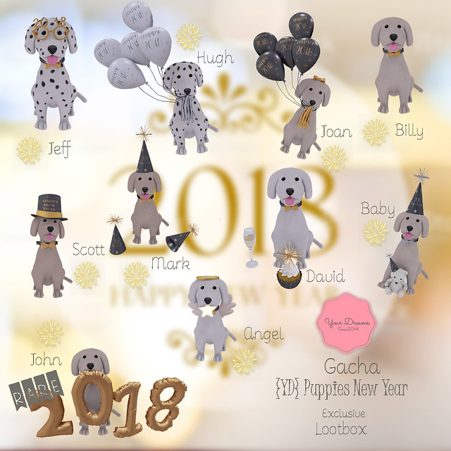 {YD} Puppies New Year