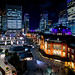 The night view of Tokyo station from KITTE building by Blue Ridge Walker