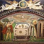 Abel and Melchizedek - San Vitale - Ravenna  San Vitale  - Ravenna DSC01309
