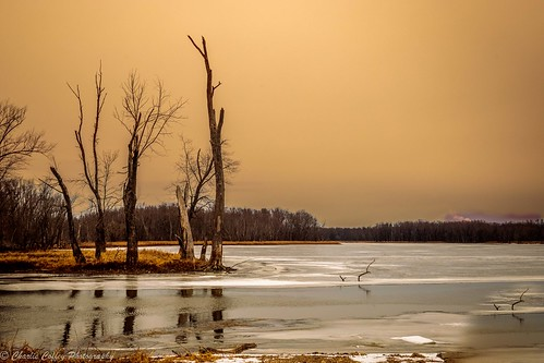 winter on the Mississippi River