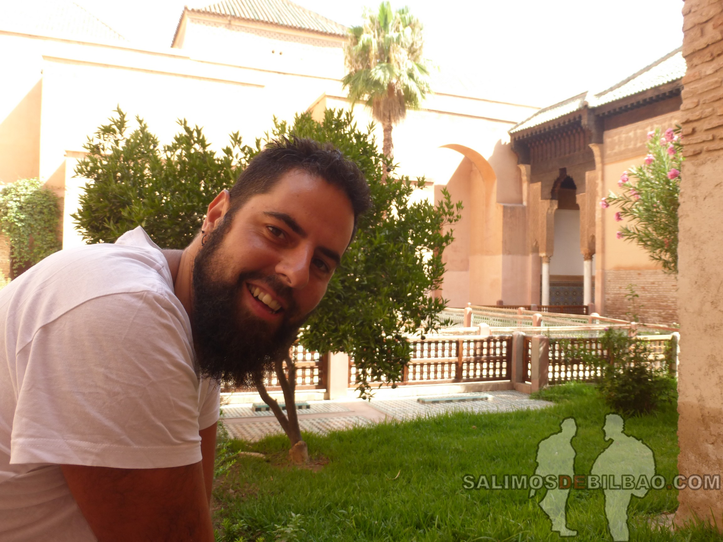 712. Katz, Tumbas saadíes, Marrakech