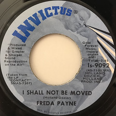 FREDA PAYNE:BRING THE BOYS HOME(LABEL SIDE-B)