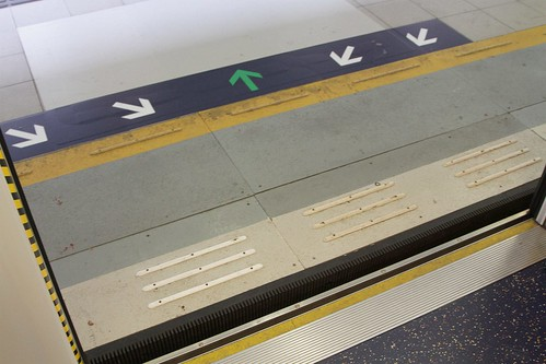 Preparatory works for the installation of automatic platform gates at Sha Tin Wai station