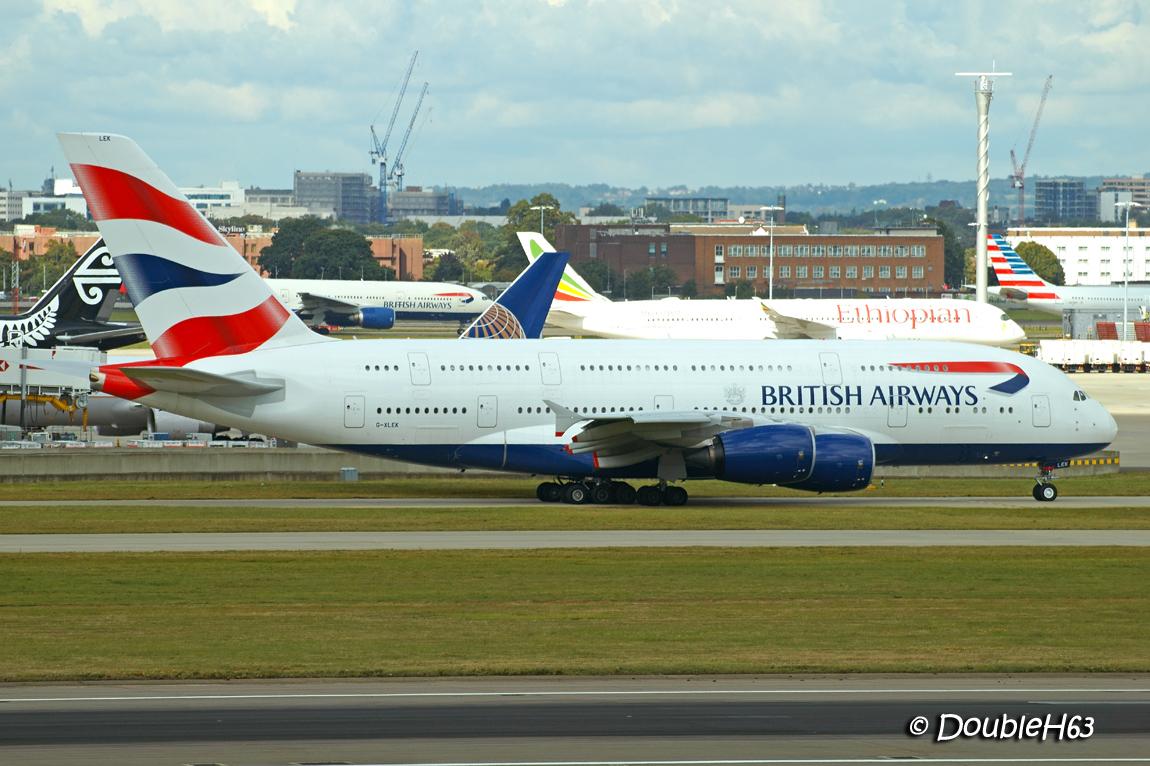 G-XLEK A388 BAW LHR