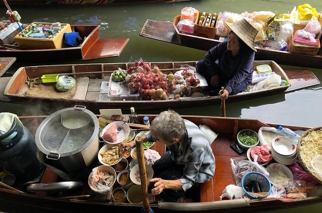 Damnoen Saduak Floating Market 77