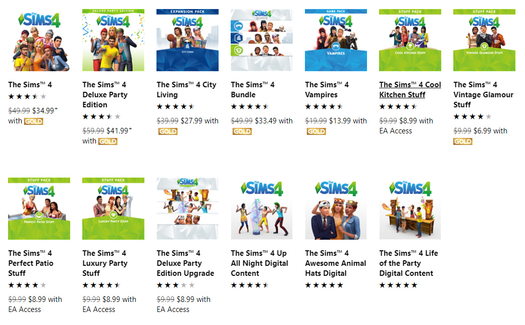 Search results for  sims 4  - Microsoft Store