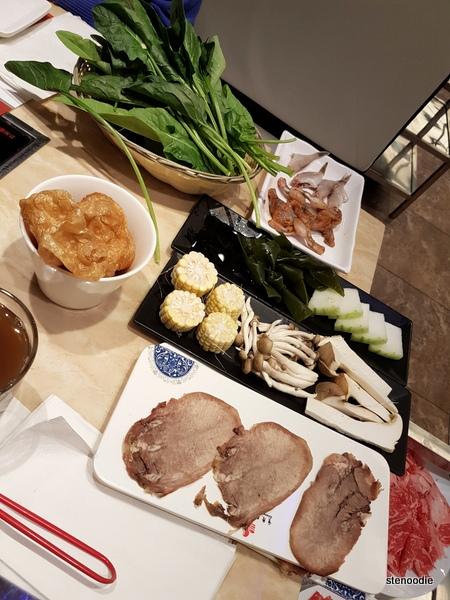 Chongqing Liuyishou Hotpot items