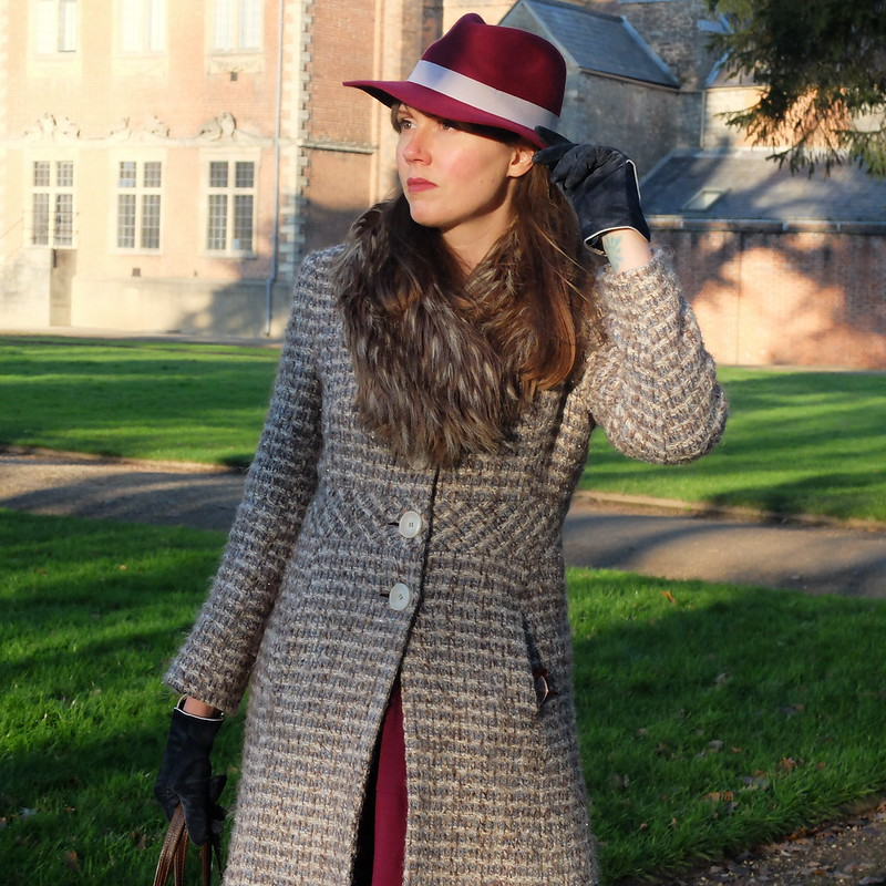 fedora @porcelinasworld