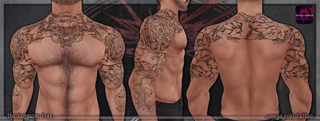 [ new release – omega rose tattoo ]
