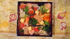 Japanese cuisine, chirashi-zushi: ちらし寿司