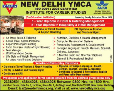 YMCA Institute for Career Studies