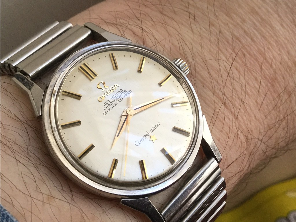 Omega Constellation cal 551 from circa 1963