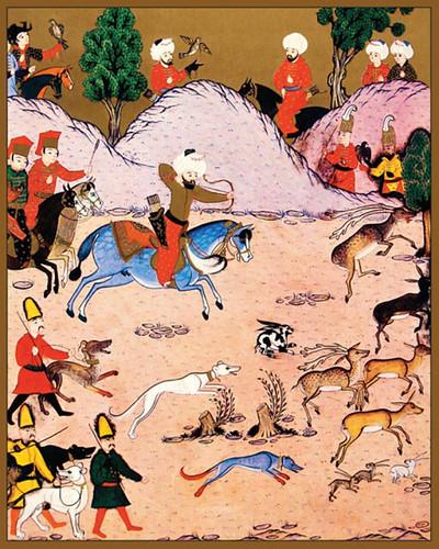 Bayezid II, Filibe dolaylarına Uzunova'da avlanması-Hünername 1. cilt