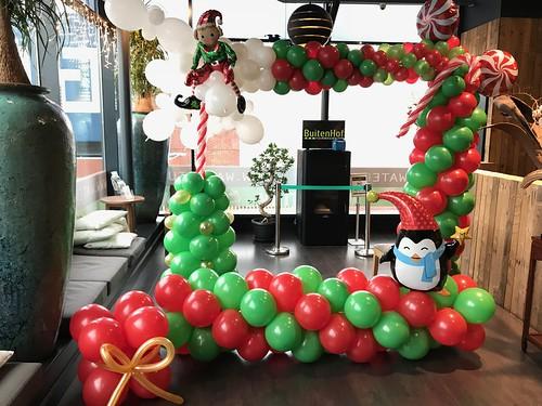 Ballondecoratie Fotolijst Kerst Watertuin Spijkenisse