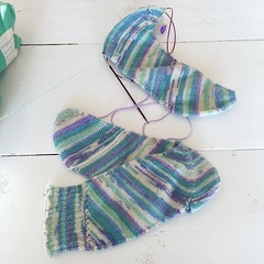 A little update for my current knitting project, skew socks! I think they look really cool, but I had to re-do almost the entire first sock because the fit is so tight I could not get it on. Even with the wider instep and larger leg mods from the designer