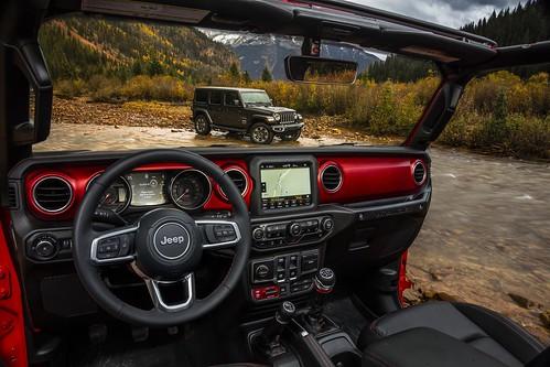 All-new 2018 Jeep® Wrangler Sahara (top) and All-new 2018 Jeep® Wrangler Rubicon (bottom)